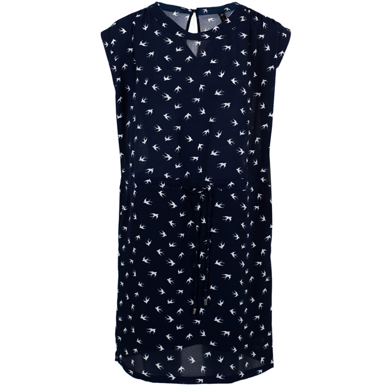 Dames jurk met korte mouw