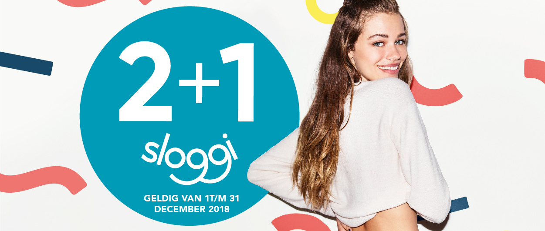 Sloggi 2+1 gratis