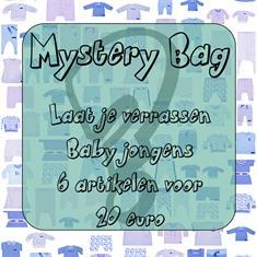 Baby jongens mistery bag 6 stuks