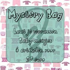 Baby meisjes mistery Bag 6 stuks