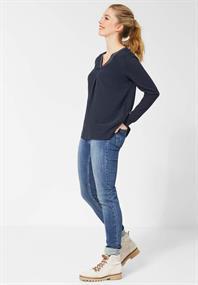 Cecil dames blouse lange mouw