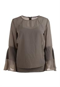 CL Essentials dames blouse lange mouw