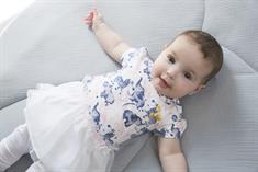 Dirkje baby meisjes jurk 3 delig