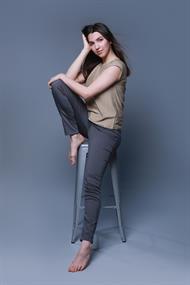 Gafair jeans dames broek lang