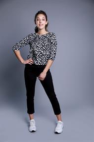 Gafair jeans dames kuitbroeken