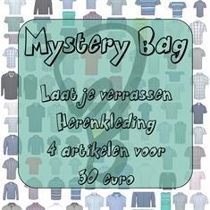 Heren mystery bag 4 stuks