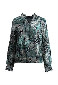 SoSoire dames blouse lange mouw