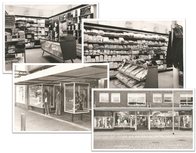 Historie Van de Ven fashion shops
